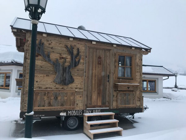 "Mobile Tiny House Alm ""Hirsch"""
