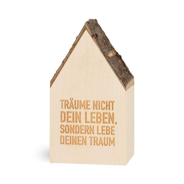 Spardose Haus / H 17 cm / VE 1 Stck.