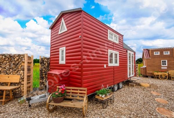 Mobiles Tiny Haus Schweden