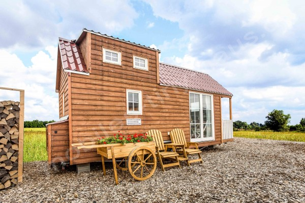 Mobiles Tiny Haus Frankreich