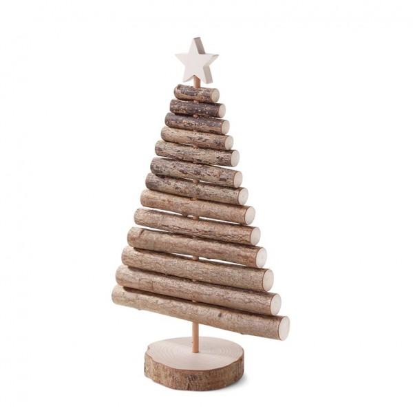 Weihnachtsbaum aus Astholz